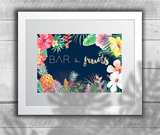 Affiche Fruit Bar (Juillet 2018)