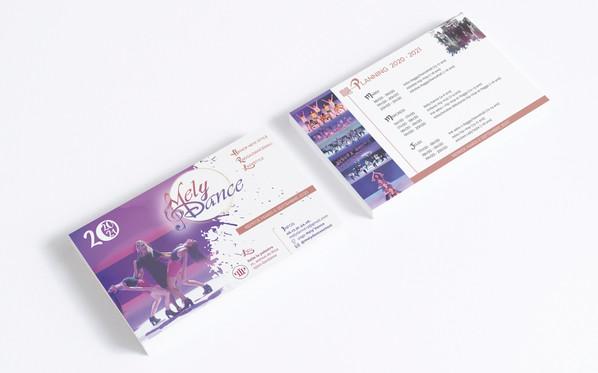 Flyer Ecole de danse MelyDance 2020-2021