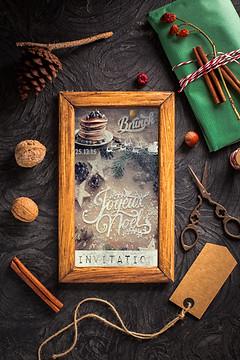 Invitation Brunch de Noel (Décembre 2015)