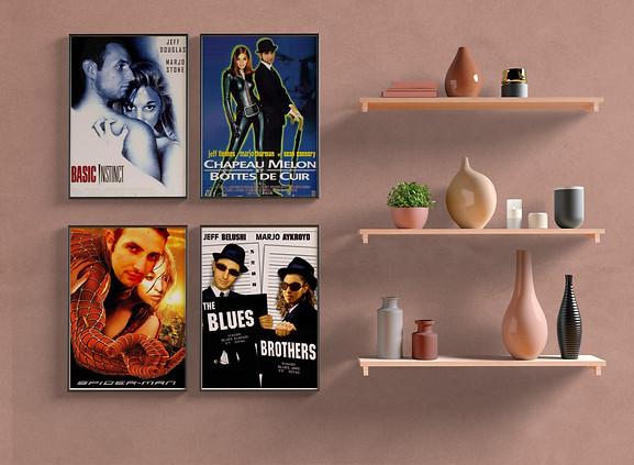 Montage Affiches de films (Juin 2009)