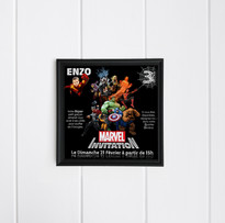 Invitation Avengers (Février 2016)