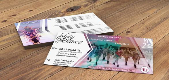 Flyer Ecole de Danse (2019-2020)