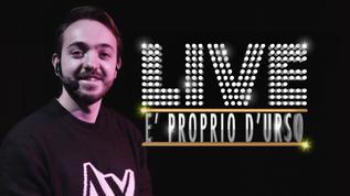 LIVE: È PROPRIO D'URSO - DAVIDE D'URSO