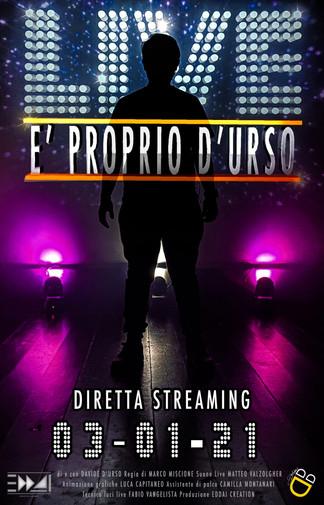 LIVE : È PROPRIO D'URSO - DAVIDE D'URSO