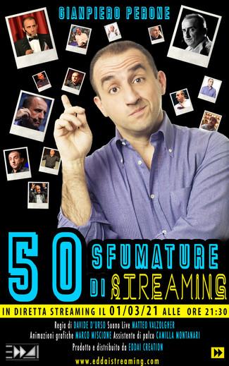 50 SFUMATURE DI STREAMING - GIANPIERO PERONE