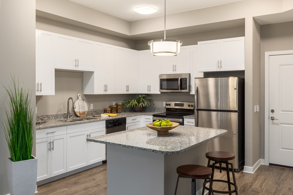 CitySide Apartment Kitchen