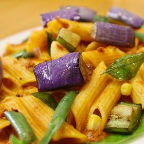 Vegetable Masala Pasta