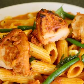 Chicken Masala Pasta