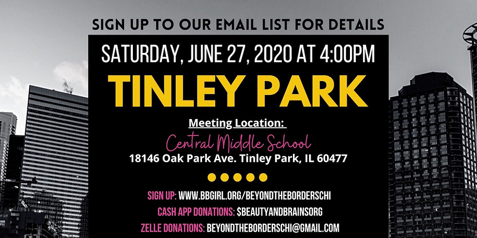 Beyond the Borders Chicago: Tinley Park Protest
