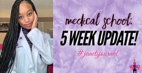 5 week update: