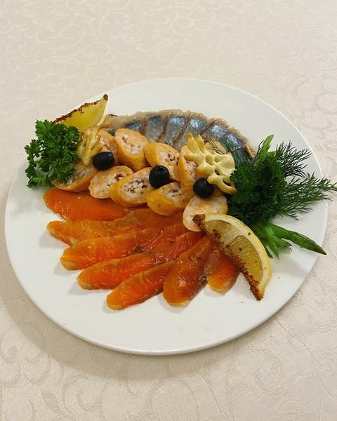 """Холодные закуски """"Рыбная тарелка"""""""