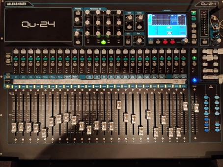 New mixer desk for SJ