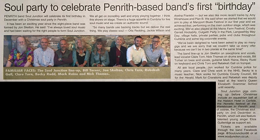 Article from Cumberland and Westmorland Herald