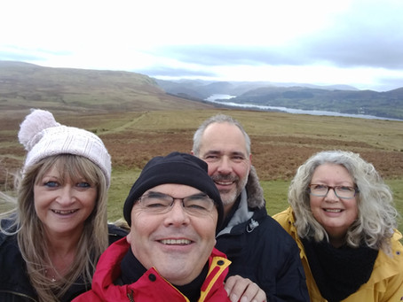 Band members conquer Ullswater fell
