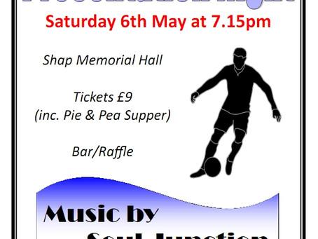 Shap Football Club Presentation Night