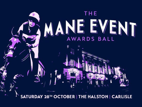 New gig details - Mane Event Awards Ball, Carlisle