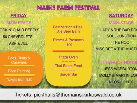Mains Farm Music Festival - Kirkoswald