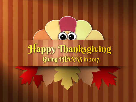 Giving THANKS! in 2017