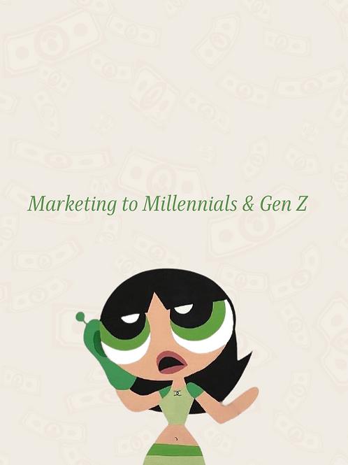 Millennial + Gen Z Consumer Guide
