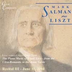 Liszt III CD