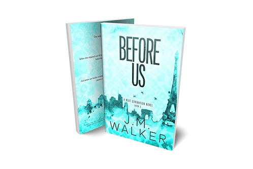 Before Us Limited Edition Cover