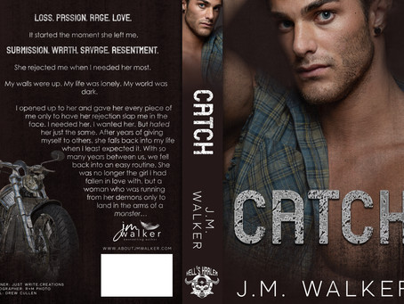 #COVERREVEAL - Catch (A Hell's Harlem Novel, #3!!!