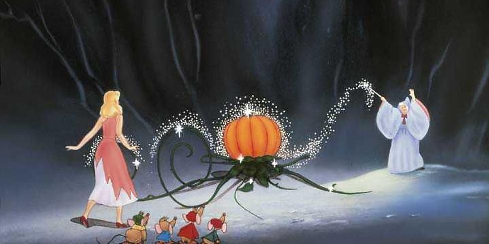 Decorate a Pumpkin with Cinderella!