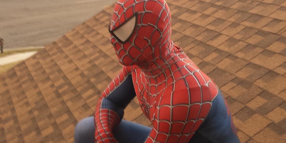 Spiderman Superhero Training