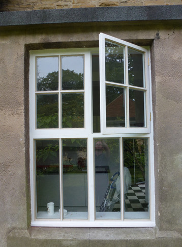 Direct replacement window.