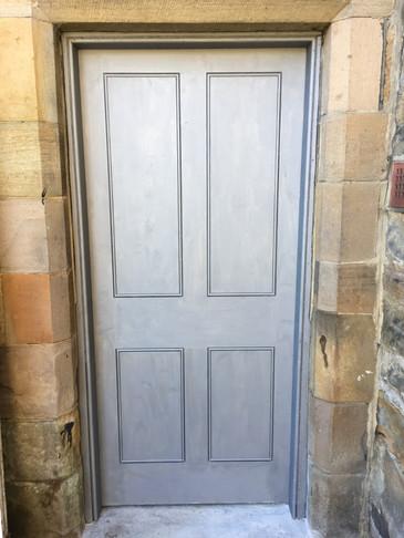False door.