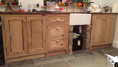 Reclaimed kitchen.