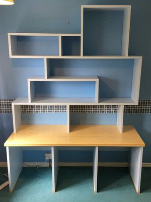 Block shelves.