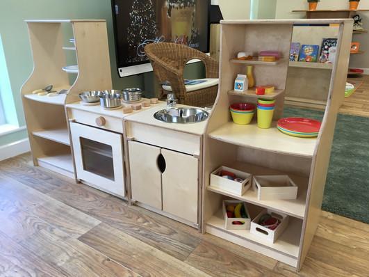 Small world kitchen.