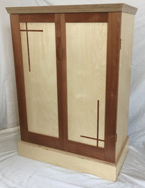 Art-deco wine cabinet.