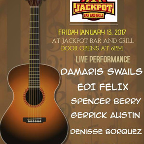 Acoustic Night @ Jackpot Bar & Grill