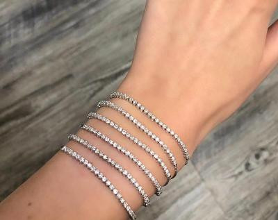 The Tennis Bracelet -What You Want To Wear Now