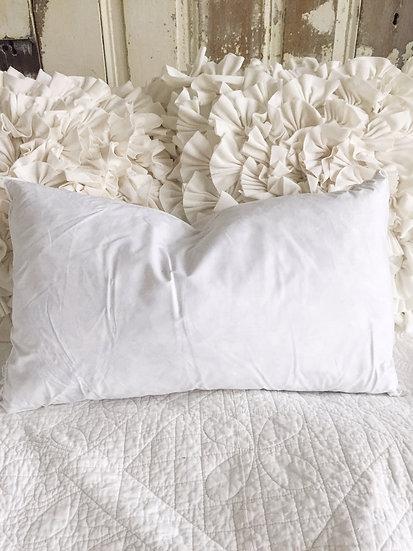 """12"""" x 20"""" Down Pillow Insert"""