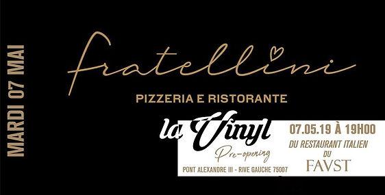 07/05/2019 OPENING Fratellini