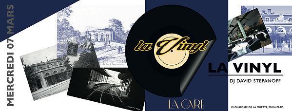 07/03/2018 La Vinyl revient à la Gare