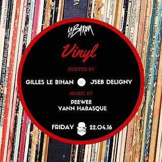 vinyl  premiere soirée return to baron vendredi 8 avril 2016