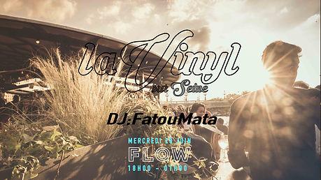 28 juin 2017 vinyl au flow avec fatoumata