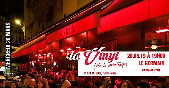 20/03/2019 La vinyl Fête le printemps | Les Soirées La Vinyl | France