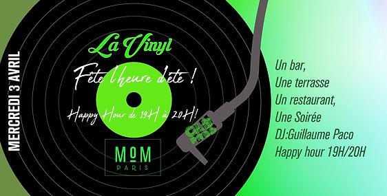 03/04/2019 the MoM Heure d'été | Les Soirées La Vinyl | France