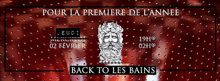 Carton les bains /jeudi 2 février/ premiere 2017