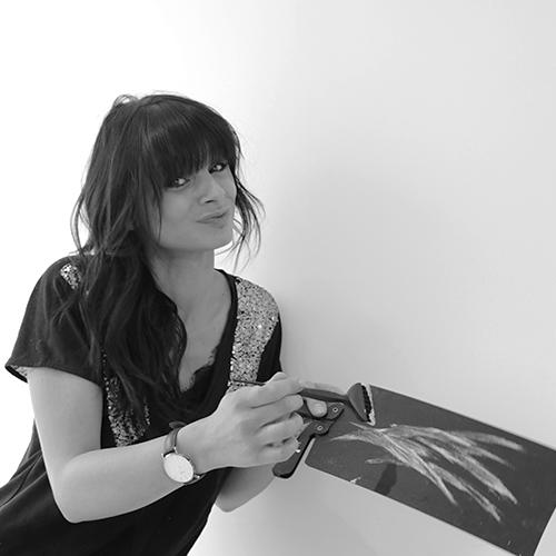 Portrait Cut Rouet - Caroline