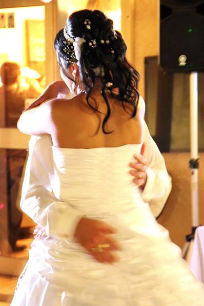 Slow romantique des mariés