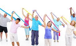 Senior Adult Exercise Activity Healthy W