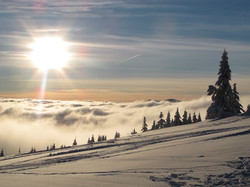 Breathtaking views from the slopes