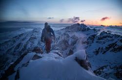 Traverse of the main ridge