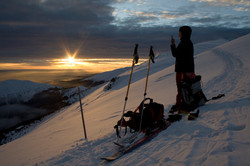 High Tatras sunset
